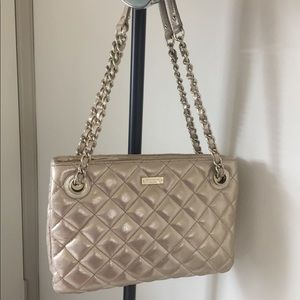 Gold ♠️ Kate Spade purse